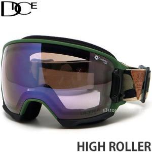20model ダイス ハイ ローラー DICE HIGH ROLLER スノー ゴーグル フレーム:CAMO レンズ:PHOTOCHROMIC/Ice Mirror/ULTRA Light Purple s3store