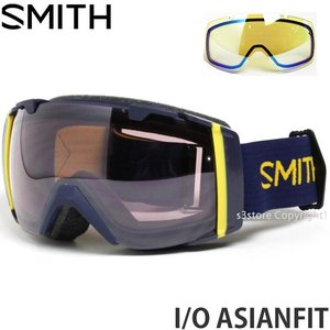 17model スミス アイ/オー アジアンフィット ゴーグル SMITH I/O ASIANFIT 16-17 2017 スノーボード GOGGLE Frame:NAVYSCOUT Lens:IGNITOR MIRROR|s3store