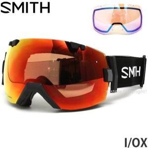 18model スミス アイ/オーエックス ゴーグル SMITH I/OX スノーボード フレームカラー:BLACK レンズカラー:CP EVERYDAY RED MIRROR|s3store