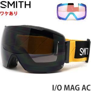 【ワケあり】 19 スミス ノースフェイス SMITH x THE NORTH FACE I/O MAG AC スノーボード ゴーグル Frame:AUSTIN Lens:CP SUN BLACK|s3store