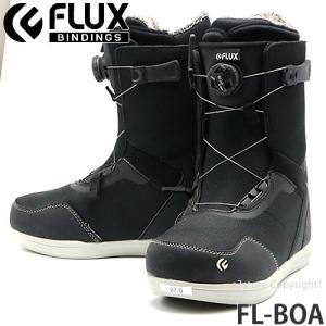 19model フラックス エフエル ボア FLUX FL-BOA スノーボード ブーツ クイック 簡単 着脱 メンズ SNOWBOARD BOOTS MENS カラー:BLACK/WHITE|s3store