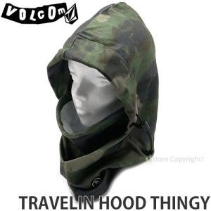 19model ボルコム フード VOLCOM TRAVELIN HOOD THINGY 18-19 スノーボード スキー 防寒 バラクラバ ネックウォーマー Col:Camouflage|s3store