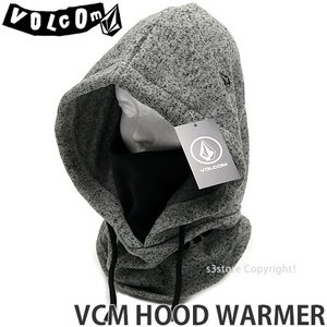 ボルコム フード ウォーマー VOLCOM VCM HOOD WARMER スノーボード スノボ スキー 防寒 バイク タウンユース カラー:HGrey サイズ:O/S|s3store
