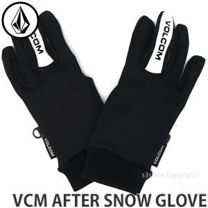 19model ボルコム アフター スノー グローブ VOLCOM VCM AFTER SNOW GLOVE SKI BOARD 手袋 インナー タウンユース MENS カラー:BLK|s3store