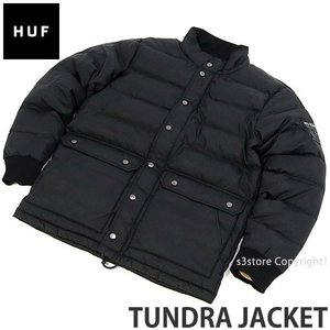 ハフ タンドラ ジャケット HUF TUNDRA JACKET スケートボード スケボー ファッション コーディネート ストリート 羽織り SKATE カラー:BLK|s3store