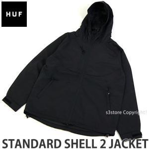 ハフ スタンダード シェル 2 ジャケット HUF STANDARD SHELL 2 JACKET アウター 服 スケートボード スケボー コーデ カラー:BLACK|s3store