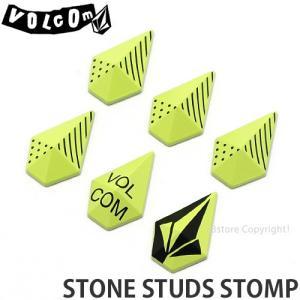 19model ボルコム ストンプ VOLCOM STONE STUDS STOMP 18-19 18-19 スノーボード スノボ 滑りどめ デッキパッド アクセサリー Col:Lime|s3store