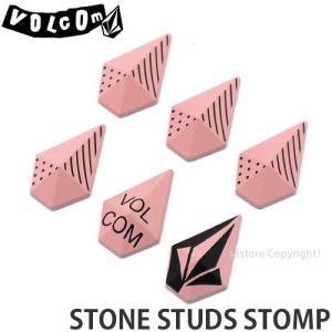 19model ボルコム ストンプ VOLCOM STONE STUDS STOMP 18-19 18-19 スノーボード スノボ 滑りどめ デッキパッド アクセサリー Col:Rose|s3store