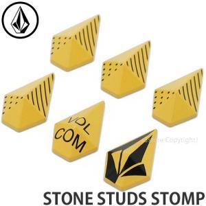 ボルコム ストーン スタッズ ストンプ VOLCOM STONE STUDS STOMP スノボ 滑りどめ デッキパッド アクセサリー SNOWBOARD カラー:YELLOW|s3store