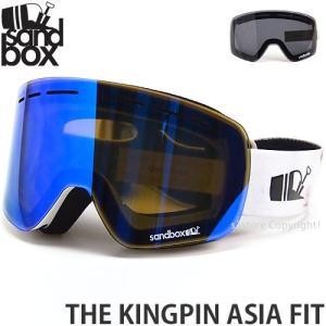 19model サンドボックス ザ キングピン アジアンフィット SANDBOX THE KINGPIN ASIA FIT フレームカラー:ARCTIC レンズカラー:BLUE ION|s3store