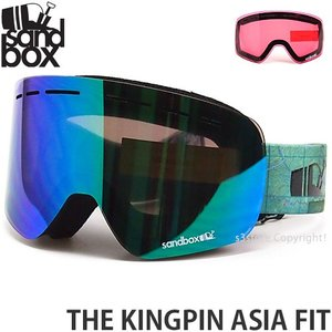19model サンドボックス ザ キングピン アジアンフィット SANDBOX THE KINGPIN ASIA FIT フレームカラー:BACKYARD レンズカラー:GREEN ION|s3store