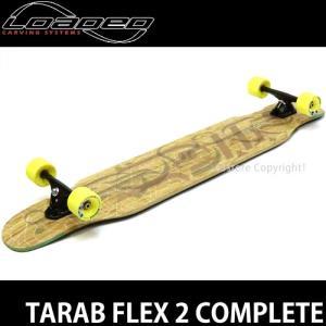 ローデッド タラブ コンプリート LOADED TARAB FLEX 2 スケートボード SKATE 完成品 ロングボード カラー:Black/Black 86a サイズ:9.5 x 47|s3store