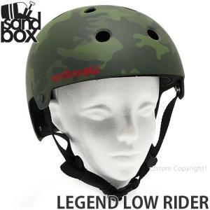サンドボックス レジェンド ロウ ライダー SANDBOX LEGEND LOW RIDER スケート スノボー ヘルメット プロテクター カラー:CAMO (MATTE)|s3store