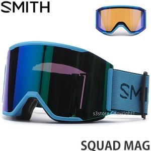 21model スミス スカッド マグ SMITH SQUAD MAG ゴーグル スノーボード スノ...
