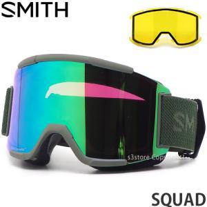 スミス スカッド SMITH SQUAD ゴーグル スノーボード スノボー スキー クロマポップ F...