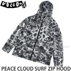 ボルコム ピース クラウド サーフ ジップ フード VOLCOM PEACE CLOUD SURF ZIP HOOD メンズ ラッシュガード 日焼け カラー:PLT|s3store