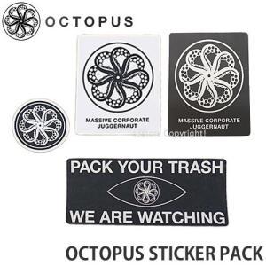 オクトパス ステッカー パック OCTOPUS STICKER PACK サーフィン SURF シール セット カスタム ロゴ サーフギア|s3store