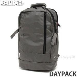 ディスパッチ デイパック DSPTCH DAYPACK バックパック バッグ リュック かばん 大容量 デイリーユース 高品質 カラー:Grey サイズ:22L|s3store
