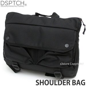 ディスパッチ ショルダー バッグ DSPTCH Shoulder Bag 肩掛け 斜め掛け かばん コンパクト 高品質 アメリカ カラー:Black サイズ:12L|s3store