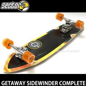 セクターナイン ゲットウェイ サイドワインダー コンプリート SECTOR 9 GETAWAY スケートボード サーフ カラー:Blk/Org SIZE:8.5