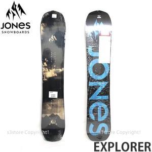 17 ジョーンズ エクスプローラー 【JONES EXPLORER】 16-17 スノーボード パウダー パーク フリースタイル メンズ SNOWBOARD POWDER  カラー:BLACK サイズ:156|s3store