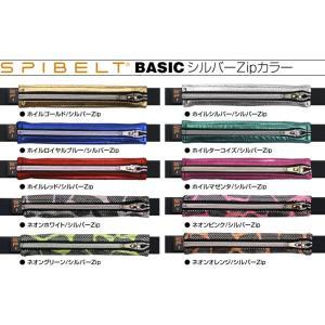 スパイベルト ベーシック シルバージップカラー SPIBELT BASIC ウェストポーチ ウェストバッグ s3store 04