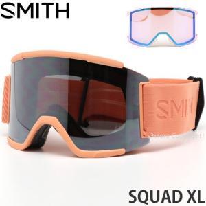 19model スミス スカッド エックスエル SMITH SQUAD XL ゴーグル スノー カラー:SALMON FLOOD レンズカラー:CHROMAPOP SUN PLATINUM MIRROR|s3store