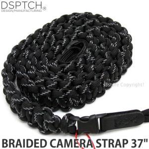 ディスパッチ ブレイデッド カメラ ストラップ DSPTCH BRAIDED CAMERA STRAP オプション アクセサリ 小物 紐 Black 3M サイズ:37