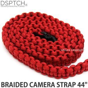 ディスパッチ ブレイデッド カメラ ストラップ DSPTCH BRAIDED CAMERA STRAP オプション アクセサリ 小物 紐 Red サイズ:44