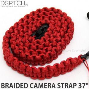 ディスパッチ ブレイデッド カメラ ストラップ DSPTCH BRAIDED CAMERA STRAP オプション アクセサリ 小物 紐 Red サイズ:37