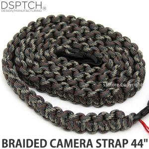 ディスパッチ ブレイデッド カメラ ストラップ DSPTCH BRAIDED CAMERA STRAP オプション アクセサリ 小物 紐 Camo サイズ:44