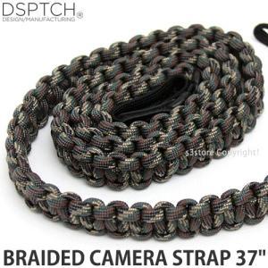 ディスパッチ ブレイデッド カメラ ストラップ DSPTCH BRAIDED CAMERA STRAP オプション アクセサリ 小物 紐 Camo サイズ:37