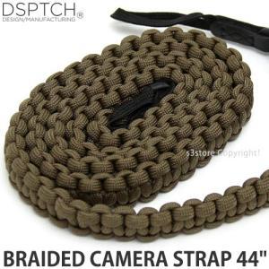 ディスパッチ ブレイデッド カメラ ストラップ DSPTCH BRAIDED CAMERA STRAP オプション アクセサリ 小物 紐 Coyote サイズ:44