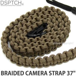 ディスパッチ ブレイデッド カメラ ストラップ DSPTCH BRAIDED CAMERA STRAP オプション アクセサリ 小物 紐 Coyote サイズ:37