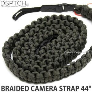 ディスパッチ ブレイデッド カメラ ストラップ DSPTCH BRAIDED CAMERA STRAP オプション アクセサリ 小物 紐 Olive サイズ:44
