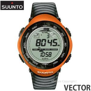 スント ベクター 【SUUNTO VECTOR】 ウォッチ 腕時計 アウトドア 国内正規品 高度計 気圧/温度計 コンパス 登山 耐久性 生産終了 カラー:ORANGE s3store