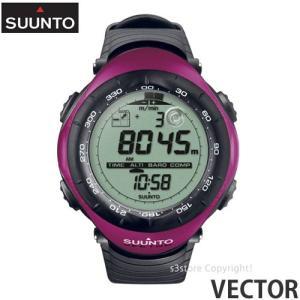 スント ベクター 【SUUNTO VECTOR】 ウォッチ 腕時計 アウトドア 国内正規品 高度計 気圧/温度計 コンパス 登山 耐久性 生産終了 カラー:BERRY PURPLE s3store