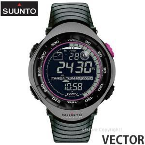 スント ベクター 【SUUNTO VECTOR】 ウォッチ 腕時計 アウトドア 国内正規品 高度計 気圧/温度計 コンパス 登山 耐久性 生産終了 カラー:CHARCOAL GRAY s3store