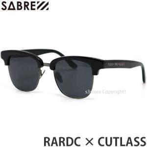 セイバー ラフアンドラゲッド カットラス SABRE CUTLASS RAR サングラス アイウエア フレーム:Black gross-matte gunmetal レンズ:Grey s3store