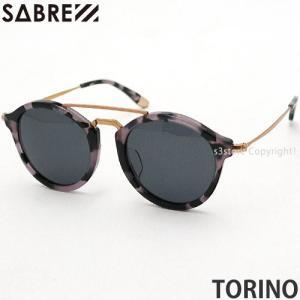 セイバー トリノ SABRE TORINO サングラス アイウエア ユニセックス アウトドア 眼鏡 海 ドライブ フレーム:BLACK TORTOISE レンズ:GREY s3store