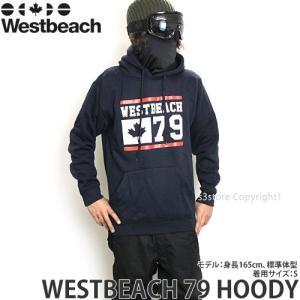 16 ウエストビーチ 79 フーディ パーカー Westbe...