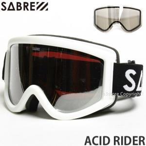 3c88aec2615b 16 セイバー アシッド ライダー SABRE ACID RIDER 国内正規品 スノーボード ゴーグル 平面 ハードケース付 Frame White  Lens Pink Silver