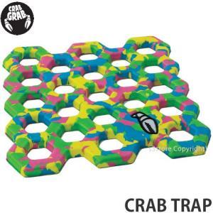 クラブ グラブ クラブ トラップ CRAB GRAB CRAB TRAP スノーボード デッキ ストンプ パッド SNOWBOARD 軽量 滑り止め カラー:Tie Dye|s3store