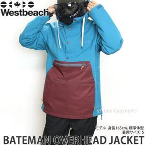 16 ウエストビーチ ベイトマン オーバーヘッド ジャケット...