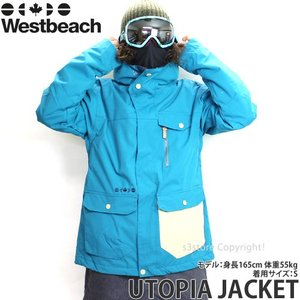 16 ウエストビーチ ユートピア ジャケット ウエア Wes...
