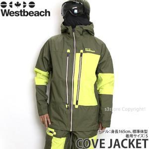 16 ウエストビーチ コーブ ジャケット 【Westbeach COVE JACKET】 国内正規品 スノーボード スノボ バックカントリー ウェア ウエア SNOWBOARD カラー:COMMANDO|s3store