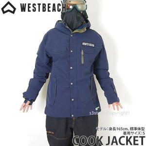ウエストビーチ クック ジャケット WESTBEACH CO...