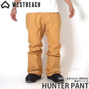ウエストビーチ ハンター パンツ WESTBEACH HUN...