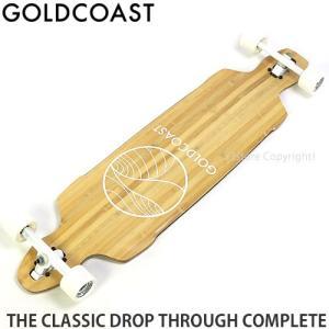 ゴールドコースト コンプリート GOLDCOAST THE CLASSIC DROP THROUGH CPL スケートボード ロング カラー:Bamboo サイズ:38 x 10.5|s3store