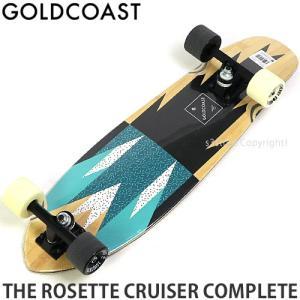 ゴールドコースト コンプリート GOLDCOAST THE ROSETTE CRUISER CPL スケートボード スケボー クルージング SKATE サイズ:27 x 7.5|s3store